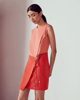 Ted Baker Crossover front shift dress