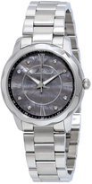 Lucien Piccard Stainless Steel & Black Mother-of-Pearl Balarina Bracelet Watch - Women
