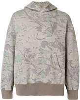 Yeezy camouflage print hoodie