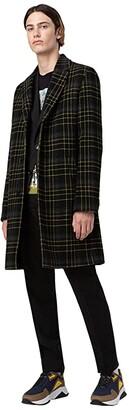 HUGO BOSS Hartleys Extra-Slim Fit Wool Trousers By HUGO (Black) Men's Casual Pants