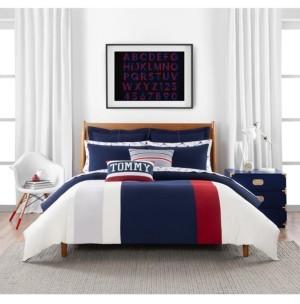 Tommy Hilfiger Clash of 85 Stripe 2 Piece Twin Comforter Set Bedding