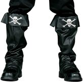 Adult Pirate Skull Costume Boot Covers