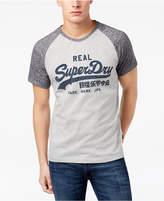 Superdry Men's Vintage Logo-Print Raglan-Sleeve T-Shirt