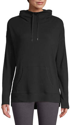 ST. JOHN'S BAY SJB ACTIVE Active Womens Funnelneck Long Sleeve Thermal Tunic