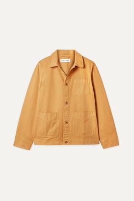 Alex Mill Herringbone Cotton Jacket - Yellow