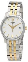 Tissot Women's T0632102203700 Tradition Analog Display Swiss Quartz Two Tone Watch