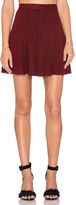 Bishop + Young A-Line Mini Skirt