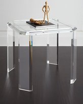 Interlude Miranda Acrylic Game Table