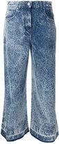 MSGM wide-leg jeans - women - Cotton - 40
