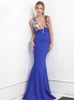 Baccio Couture - Orit - 909 Silk Bandage Long Dress