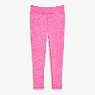 Joe Fresh Kid Girls' Brushed Active Leggings, Pink (Size L)