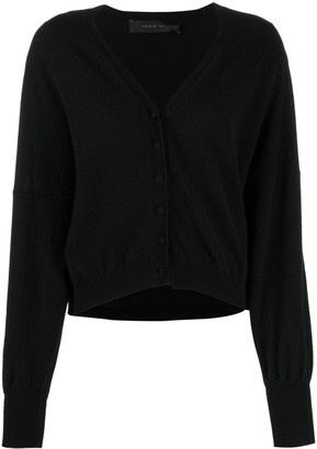 FEDERICA TOSI V-neck ribbed knit cardigan