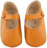 Marie Chantal Baby Girl Pram Shoe - Mary Jane - Camel