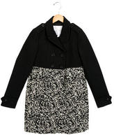 Burberry Girls' Wool Pattered Coat
