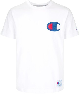 Champion logo patch crew neck T-shirt