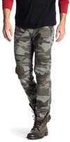 True Religion Geno Slim Fit Camo Moto Pant