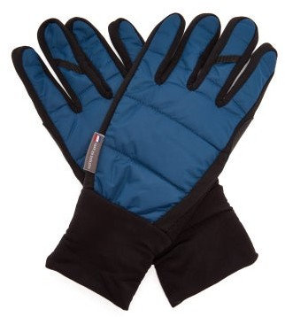 Café Du Cycliste Wind-resistant Cycling Gloves - Blue
