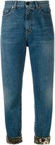 Saint Laurent cropped jeans - women - Cotton - 25