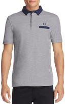Fred Perry Oxford Trim Slim Fit Polo Shirt