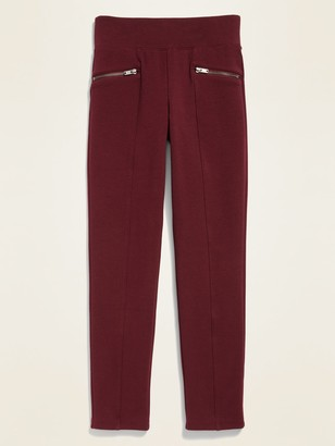 Old Navy High-Waisted Zip Faux-Pocket Stevie Pants for Girls