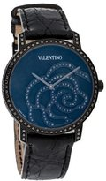 Valentino Black Rose Watch