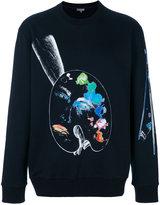 Lanvin Palette sweatshirt - men - Cotton - S
