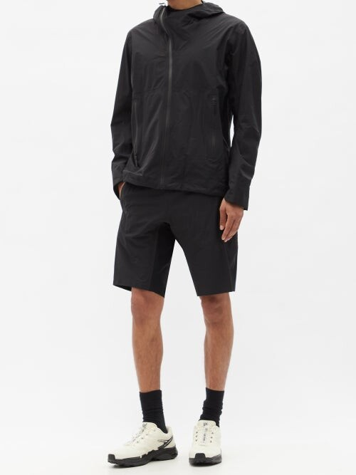 Thumbnail for your product : Veilance Secant Technical-shell Shorts - Black