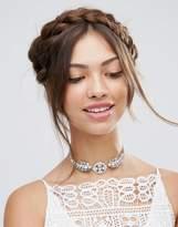 Asos Wedding Crystal Choker Necklace