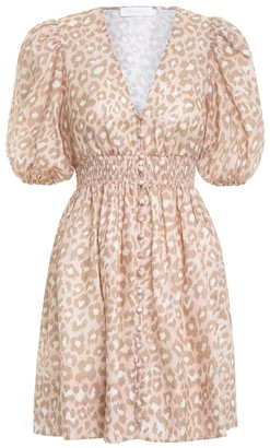 Zimmermann Carnaby Shirred Waist Dress