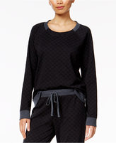 Alfani Quilted-Style Pajama Top, Only at Macy's
