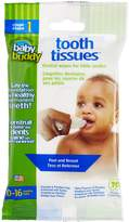 Baby Buddy Tooth Tissues Stage 1 for Baby/Toddler, Bubble Gum Flavor Kids Love