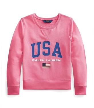 Ralph Lauren Kids Usa Graphic Sweatshirt (6-14 Years)