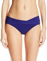 Robin Piccone Women's Ava Twist Cuff Bikini Bottom