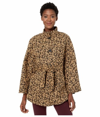 Collection XIIX Women's Leopard Belted Cape One Size