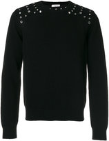 Valentino eyelet jumper - men - Cashmere/Virgin Wool - L