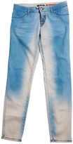 Just Cavalli Blue Cotton Jeans for Women