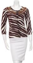 Kate Spade Embellished Long Sleeve Cardigan