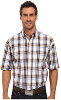 Stetson Blue Springs Button Front Two-Pocket Short Sleeve Shirt
