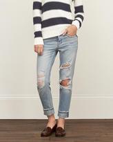 Abercrombie & Fitch Straight Boyfriend Jeans