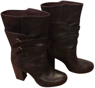 Vanessa Bruno Brown Leather Boots