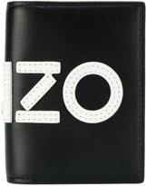 Kenzo graphic logo wallet - men - Leather/Nylon - One Size