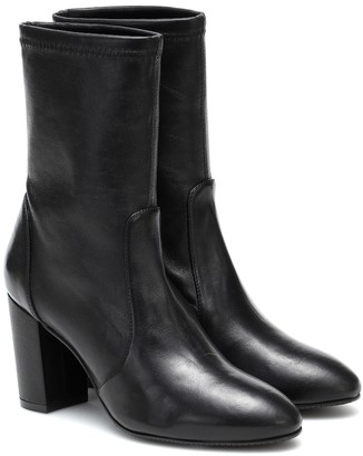 Stuart Weitzman Yuliana leather ankle boots