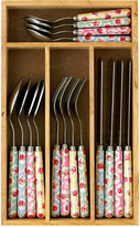 Cath Kidston Provence Rose 16 Piece Cutlery Set
