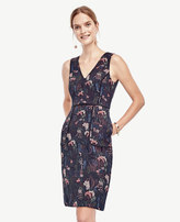 Ann Taylor Night Garden Pocket Dress