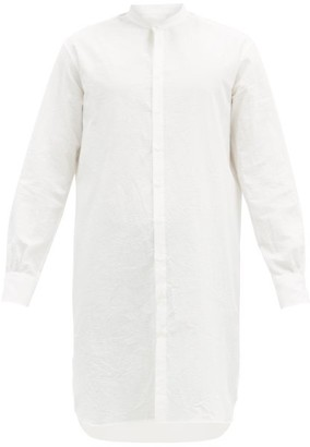 Bourrienne Paris X - Artiste Cotton-seersucker Tunic Shirt - White