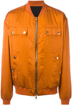Balmain bomber jacket - men - Silk/Cotton - S