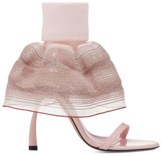 Piferi Faux Leather Fantasia Sandals 100