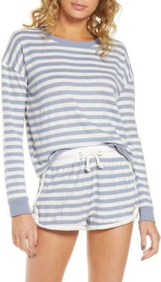 Vintage Havana Stripe Hacci Lounge Sweatshirt