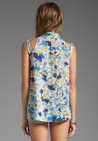 MinkPink Daisy Duke Sleeveless Shirt