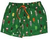 Gallo Men's Green Polyester Trunks.